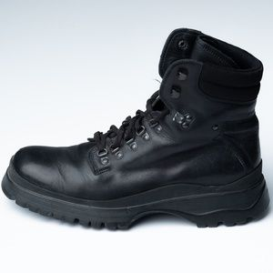 PRADA LACE UP HIKING BOOTS 10 US $1400